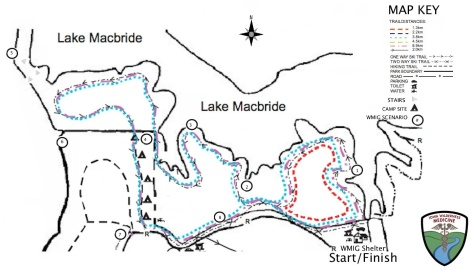 20130202sa-lake-macbride-wilderness-medicine-race-trails-map