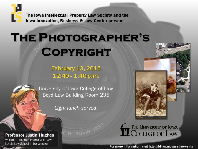 "Special Event: ""The Photographer's Copyright"""