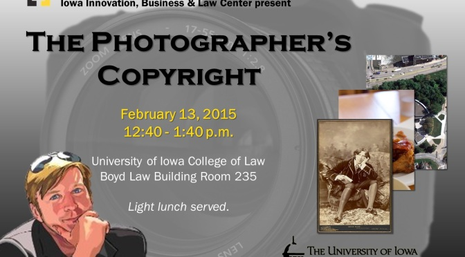 """Special Event: """"The Photographer's Copyright"""""""