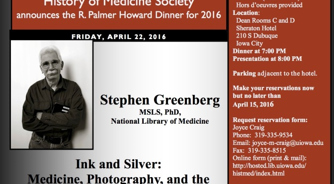 Event: History of Medical Photography