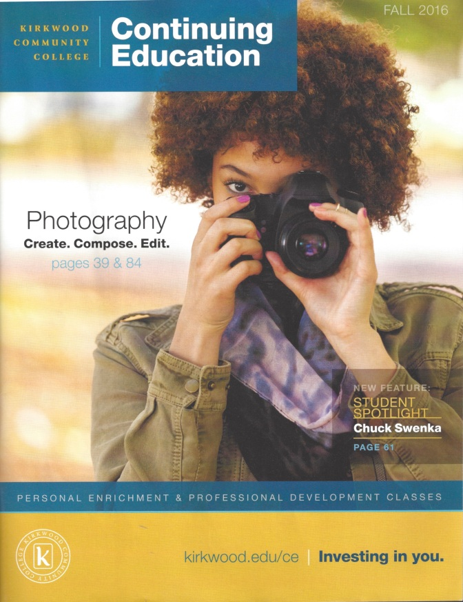 Kirkwood Community College Fall 2016 Photography Courses